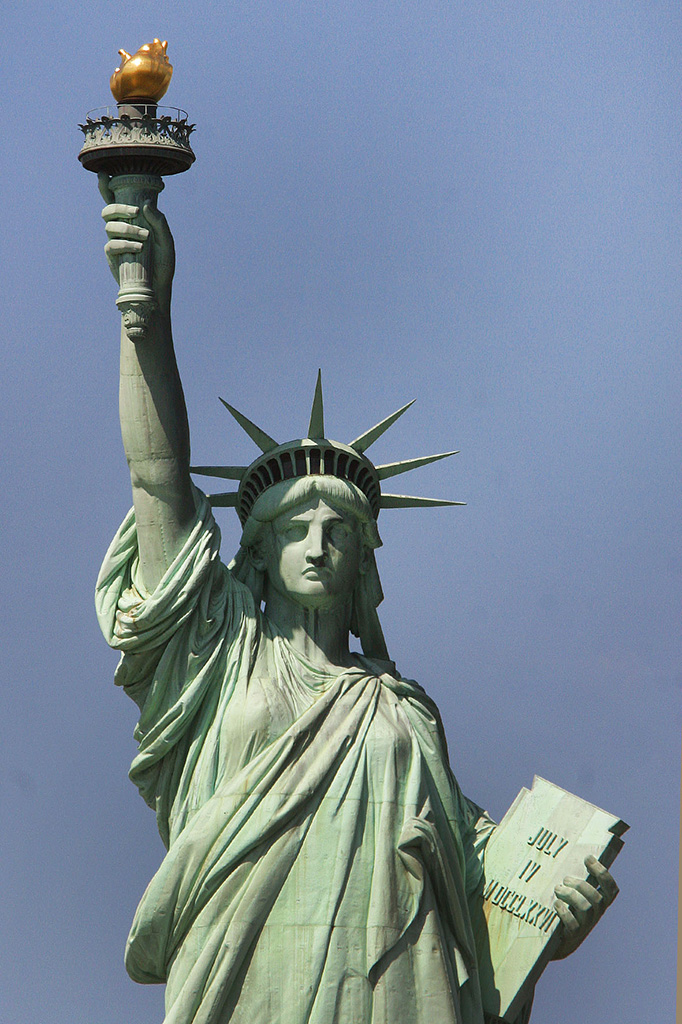La statue de la Liberté à New-York