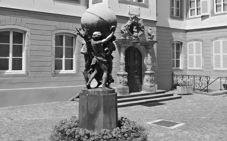 Cour du musée Bartholdi
