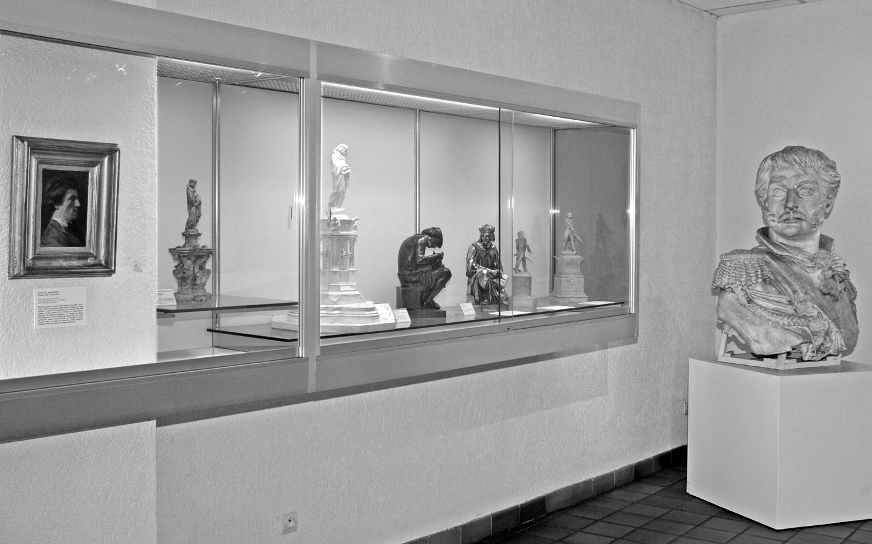 Photo d'une salle du musée Bartholdi