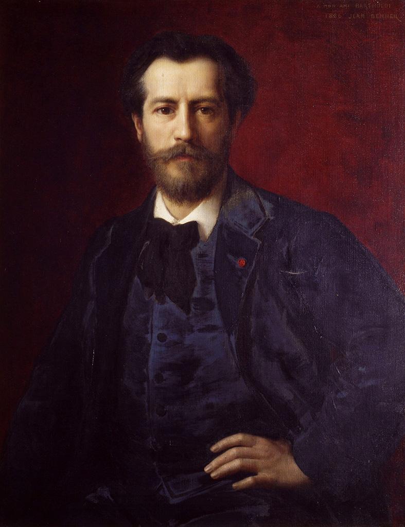 Portrait d'Auguste Bartholdi, peint par Jean Benner en 1886