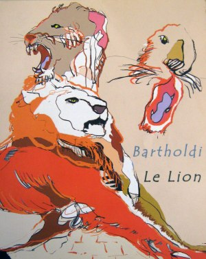 Publication Bartholdi Le Lion