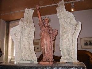 Copie du modèle original de la statue de la Liberté