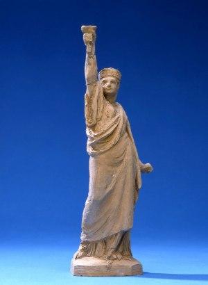 Petite statuette de la Liberté