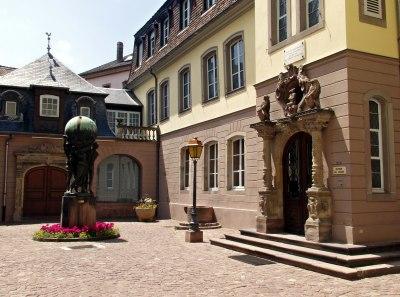 La cour du musée Bartholdi