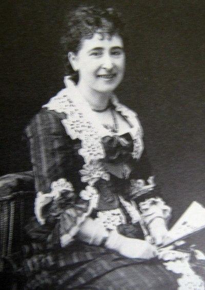 Jeanne-Emilie Bartholdi, l'épouse d'Auguste