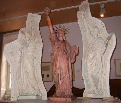 Le moule de la statue de la Liberté de Colmar