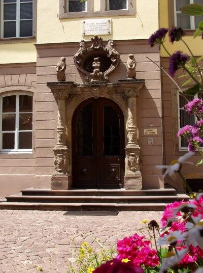 Portail d'entrée du musée Bartholdi