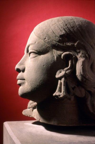 Une des quatre figures allégoriques du monument Bruat - L'Océanie
