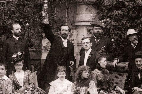 Photo avec Auguste Bartholdi