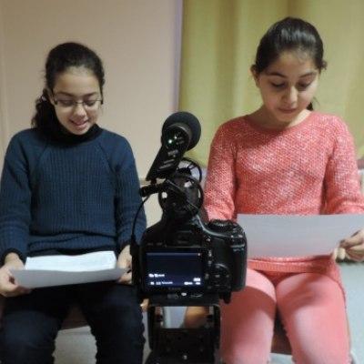 Enregistrement des voix des enfants